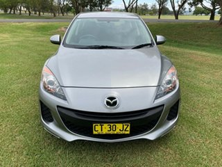 2012 Mazda 3 BL10F2 Neo Silver 6 Speed Manual Hatchback
