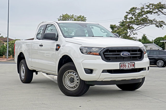 Used Ford Ranger PX MkIII 2020.25MY XL Capalaba, 2020 Ford Ranger PX MkIII 2020.25MY XL Arctic White 6 Speed Sports Automatic Super Cab Pick Up