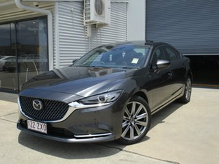 2019 Mazda 6 GL1033 Atenza SKYACTIV-Drive Grey 6 Speed Sports Automatic Sedan.