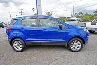 2014 Ford Ecosport BK Titanium Blue 5 Speed Manual Wagon.