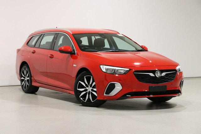 Used Holden Commodore ZB MY19.5 RS Bentley, 2019 Holden Commodore ZB MY19.5 RS Red 9 Speed Automatic Sportswagon
