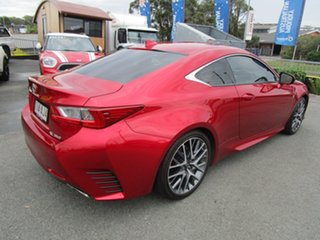 2015 Lexus RC GSC10R RC350 F Sport Red 8 Speed Sports Automatic Coupe