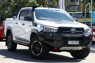 2018 Toyota Hilux GUN126R 4x4 Glacier White 6 Speed Automatic Dual Cab.