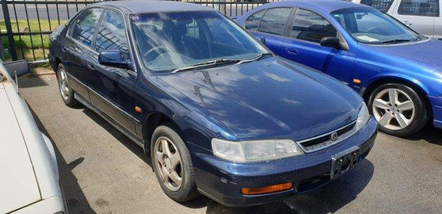 Used Honda Accord EXi Cheltenham, 1996 Honda Accord EXi Blue 4 Speed Automatic Sedan