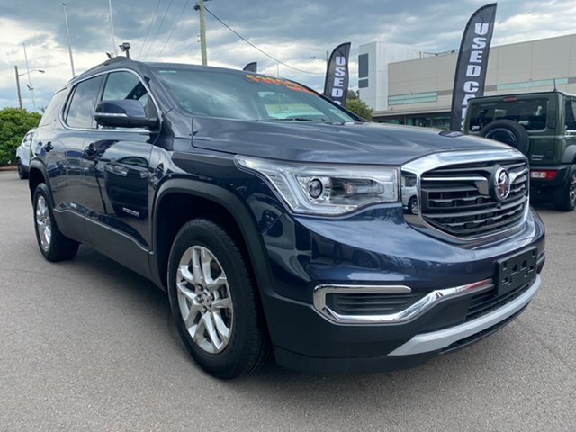 Used Holden Acadia AC MY19 LT AWD Cardiff, 2019 Holden Acadia AC MY19 LT AWD Blue Stee 9 Speed Sports Automatic Wagon