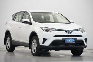 2016 Toyota RAV4 ALA49R GX AWD White 6 Speed Sports Automatic Wagon