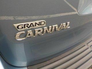 2007 Kia Grand Carnival VQ (EX) Blue 5 Speed Automatic Wagon