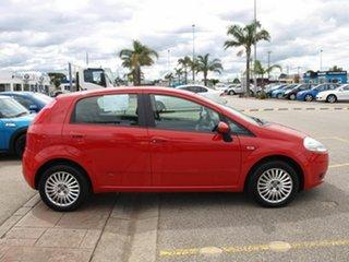 2007 Fiat Punto Dynamic DuaLogic Red 5 Speed Seq Manual Auto-Clutch Hatchback.