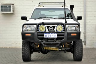 2006 Nissan Patrol GU II DX White 5 Speed Manual Cab Chassis.