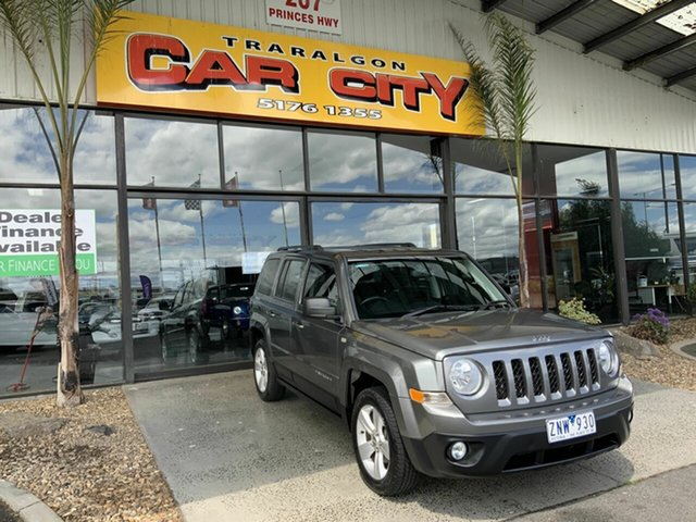 Used Jeep Patriot MK MY12 Sport (4x2) Traralgon, 2012 Jeep Patriot MK MY12 Sport (4x2) Grey 5 Speed Manual Wagon