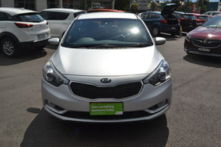 2014 Kia Cerato YD MY15 S Silver 6 Speed Sports Automatic Hatchback.
