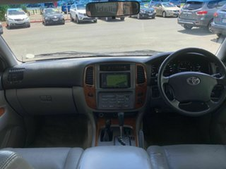 2005 Toyota Landcruiser HDJ100R Sahara (4x4) Grey 5 Speed Automatic Wagon