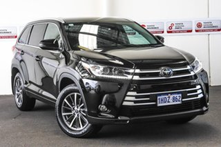 2019 Toyota Kluger GSU55R MY18 GXL (4x4) Eclipse Black 8 Speed Automatic Wagon.