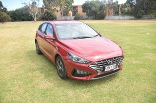 2020 Hyundai i30 PD.V4 MY21 Fiery Red 6 Speed Sports Automatic Hatchback.
