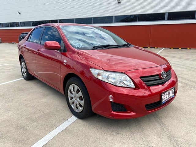 Used Toyota Corolla ZRE152R Ascent Morayfield, 2008 Toyota Corolla ZRE152R Ascent Red 4 Speed Automatic Sedan