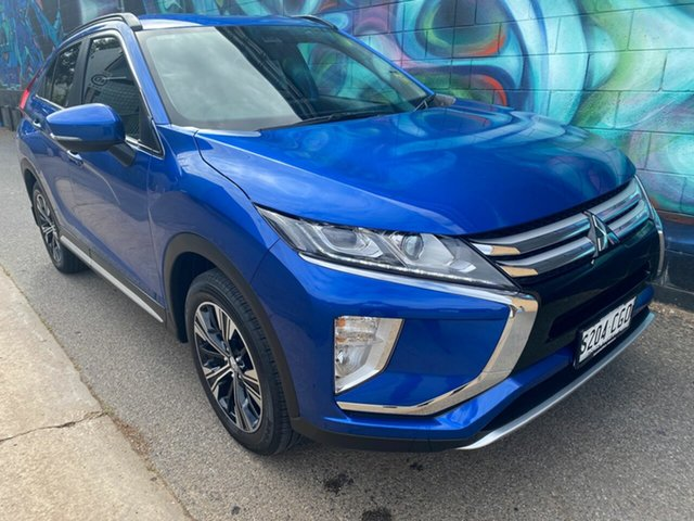 Demo Mitsubishi Eclipse Cross YA MY20 LS 2WD Wayville, 2020 Mitsubishi Eclipse Cross YA MY20 LS 2WD Lightning Blue 8 Speed Constant Variable Wagon