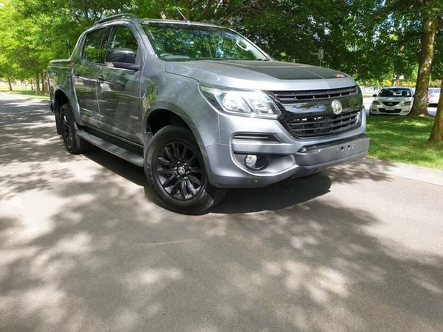 Used Holden Colorado RG MY18 Z71 Pickup Crew Cab Launceston, 2018 Holden Colorado RG MY18 Z71 Pickup Crew Cab Grey 6 Speed Sports Automatic Utility