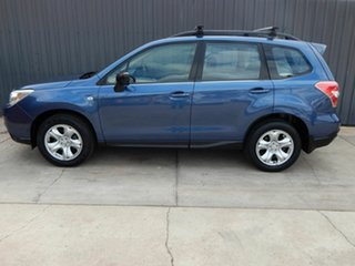 2013 Subaru Forester S4 MY13 2.0i AWD Blue 6 Speed Manual Wagon.