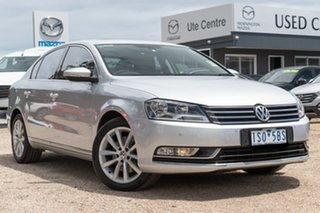 2012 Volkswagen Passat Type 3C MY13 125TDI DSG Highline Silver 6 Speed Sports Automatic Dual Clutch.