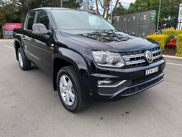 Used Volkswagen Amarok 2H MY19 TDI550 4MOTION Perm Sportline Botany, 2019 Volkswagen Amarok 2H MY19 TDI550 4MOTION Perm Sportline Black 8 Speed Automatic Utility