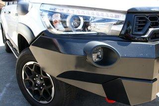 2018 Toyota Hilux GUN126R 4x4 Glacier White 6 Speed Automatic Dual Cab.