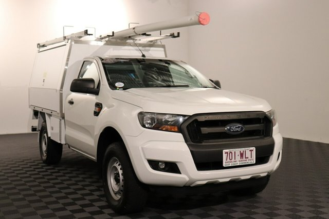 Used Ford Ranger PX MkII XL Acacia Ridge, 2016 Ford Ranger PX MkII XL White 6 speed Automatic Cab Chassis