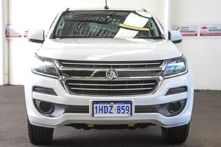 2018 Holden Colorado RG MY18 LS (4x4) White 6 Speed Automatic Crew Cab Pickup.