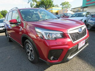 2018 Subaru Forester S5 MY19 2.5i CVT AWD Red 7 Speed Constant Variable Wagon.