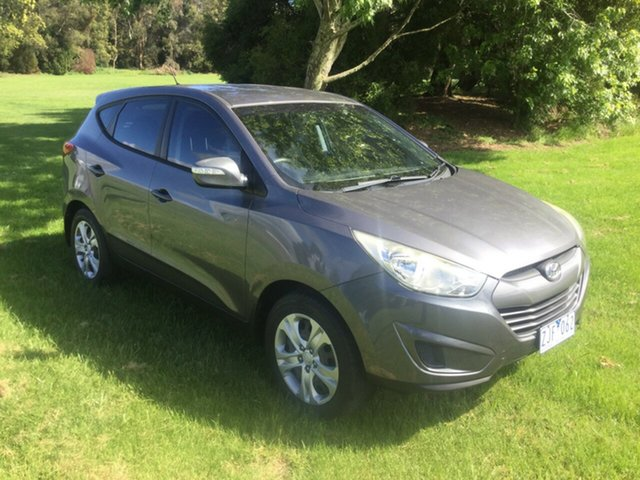 Used Hyundai ix35 LM MY11 Active Launceston, 2011 Hyundai ix35 LM MY11 Active Grey 6 Speed Sports Automatic Wagon