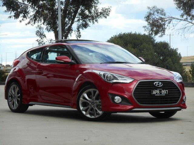 Used Hyundai Veloster FS5 Series II SR Coupe D-CT Turbo Ravenhall, 2017 Hyundai Veloster FS5 Series II SR Coupe D-CT Turbo 7 Speed Sports Automatic Dual Clutch