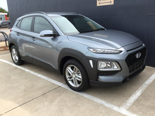 Used Hyundai Kona OS.2 MY19 Active 2WD Stuart Park, 2019 Hyundai Kona OS.2 MY19 Active 2WD Grey 6 Speed Sports Automatic Wagon