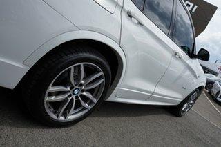 2016 BMW X3 F25 MY17 Update xDrive20d Alpine White 8 Speed Automatic Wagon