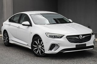 2019 Holden Commodore ZB MY20 RS Liftback AWD White 9 Speed Sports Automatic Liftback.
