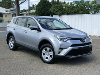 2018 Toyota RAV4 ASA44R GX AWD Silver 6 Speed Sports Automatic Wagon.