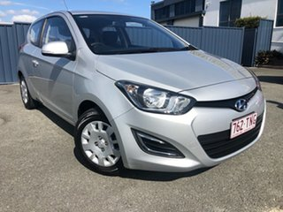 2013 Hyundai i20 PB MY13 Active Silver 4 Speed Automatic Hatchback.
