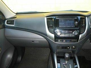 2016 Mitsubishi Triton MQ MY16 GLS Silver 6 Speed Sports Automatic Dual Cab