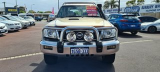 2006 Nissan Patrol GU IV MY06 TI Gold 5 Speed Manual Wagon.