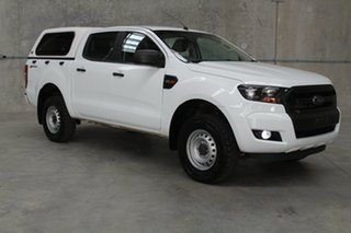 2017 Ford Ranger PX MkII XL Hi-Rider White 6 speed Automatic Utility.