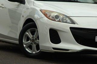 2013 Mazda 3 BL10F2 MY13 Neo White 6 Speed Manual Hatchback