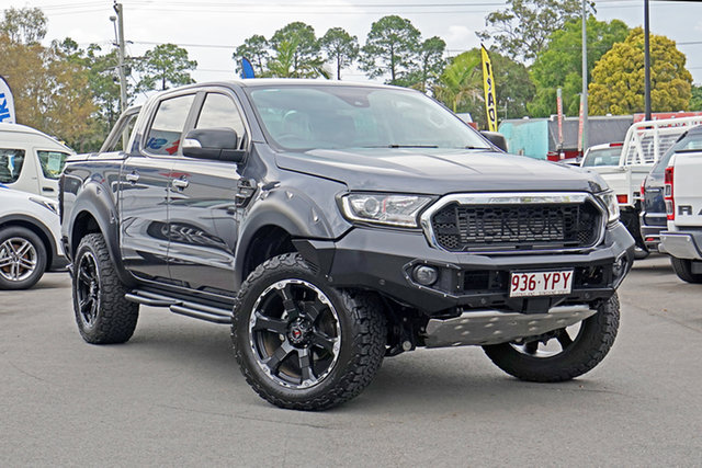 Used Ford Ranger PX MkIII 2019.00MY XLT Chandler, 2019 Ford Ranger PX MkIII 2019.00MY XLT Grey 10 Speed Sports Automatic Double Cab Pick Up