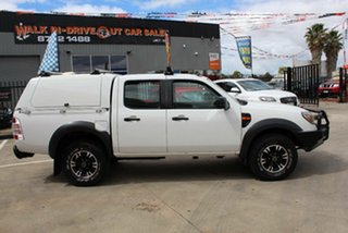 2010 Ford Ranger PK XL Hi-Rider (4x2) White 5 Speed Automatic Dual Cab Pick-up