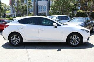 2016 Mazda 3 BM MY15 Touring White 6 Speed Manual Hatchback