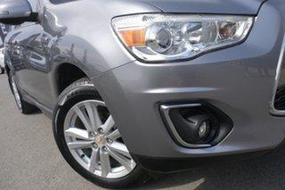 2012 Mitsubishi ASX XA MY12 Aspire Titanium 6 Speed Manual Wagon.