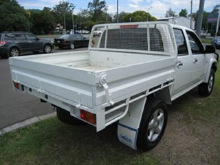 2010 Holden Colorado RC MY10 LX (4x4) White 5 Speed Manual Crew Cab Chassis