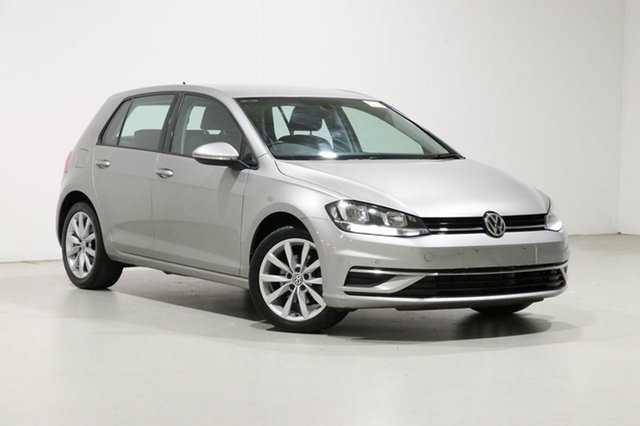 Used Volkswagen Golf AU MY18 110 TSI Comfortline Bentley, 2017 Volkswagen Golf AU MY18 110 TSI Comfortline Grey 7 Speed Auto Direct Shift Hatchback