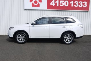 2014 Mitsubishi Outlander ZJ MY14.5 LS 4WD White 6 Speed Sports Automatic Wagon