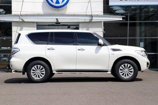 2018 Nissan Patrol Y62 Series 4 TI-L White 7 Speed Sports Automatic Wagon.