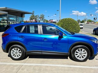 2013 Mazda CX-5 KE1031 MY13 Maxx SKYACTIV-Drive AWD Sport Blue 6 Speed Sports Automatic Wagon.