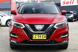 2018 Nissan Qashqai J11 Series 2 N-TEC X-tronic Burgundy 1 Speed Constant Variable Wagon