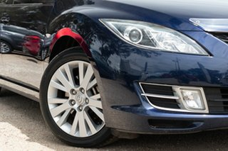 2009 Mazda 6 GH1051 MY09 Classic Blue 5 Speed Sports Automatic Hatchback.
